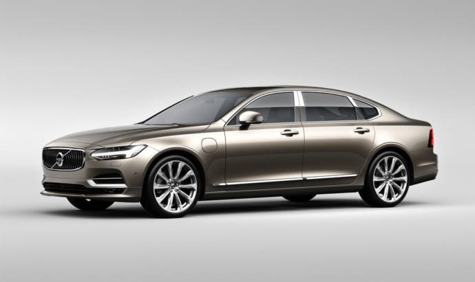 Volvo S90 updated in China and offered with Excellence version