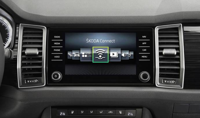 New Skoda Kodiaq also introduces Skoda Connect