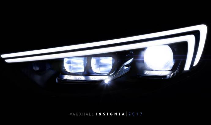 Vauxhall details the new IntelliLUX technology on future Insignia