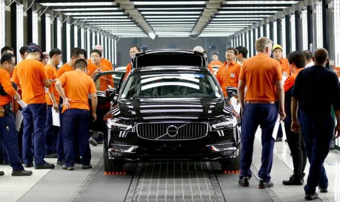 Volvo opens plant in China for S90 production