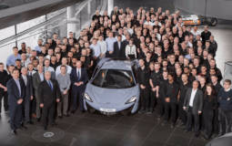 10.000 cars produced by McLaren