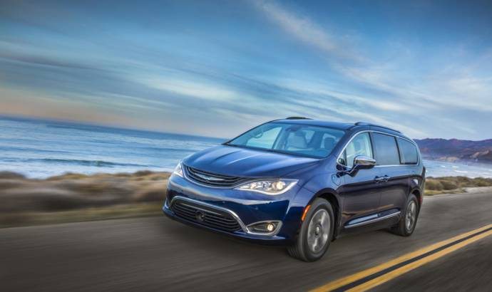 2017 Chrysler Pacifica achieves 84 mpg fuel consumption
