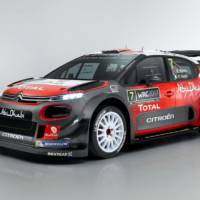 2017 Citroen C3 WRC is here