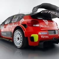 2017 Citroen C3 WRC is here