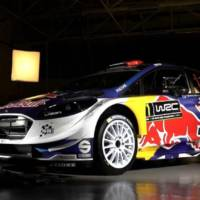 2017 Ford Fiesta WRC has racing livery