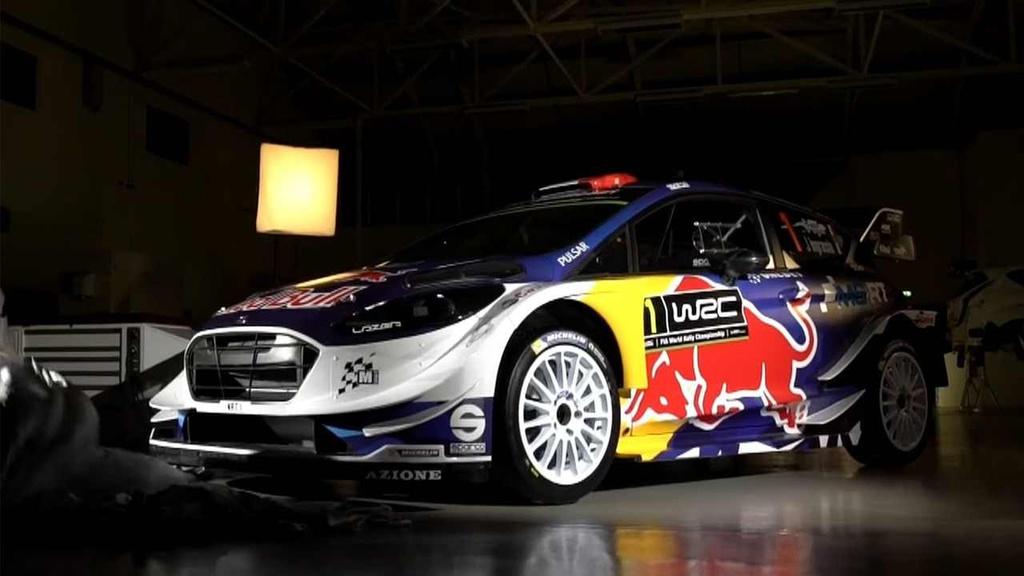 2017 Ford Fiesta WRC has racing livery