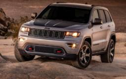 2017 Jeep Grand Cherokee Trailhawk exterior