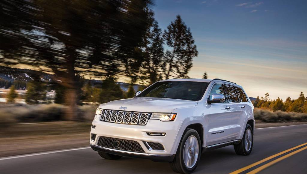 2017 Jeep Grand Cherokee earns NHTSA five-star rating