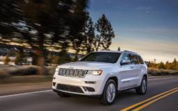 2017 Jeep Grand Cherokee earns NHTSA five-star rating