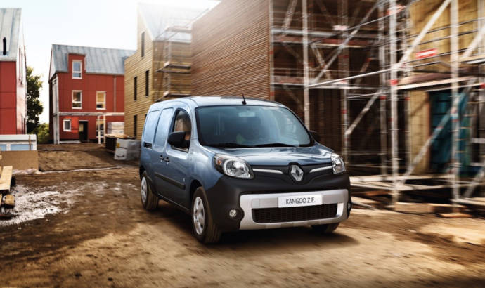 2017 Renault Kangoo Z.E.- With 50 percent more range