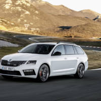 2017 Skoda Octavia RS facelift - Official pictures and details