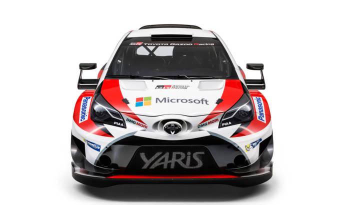 2017 Toyota Yaris WRC is here