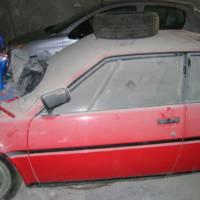 A BMW M1 was found in a barn