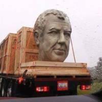 Amazon built a Jeremy Clarkson statue