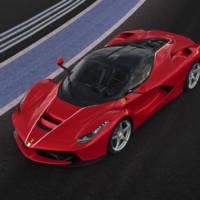 Ferrari LaFerrari sells for 7 million USD