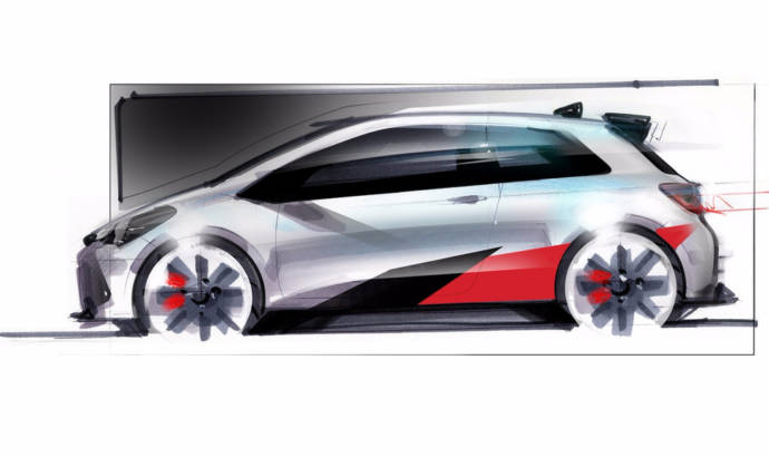 Hot Toyota Yaris - First teaser picture