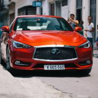Infiniti, first registered US vehicle in Cuba