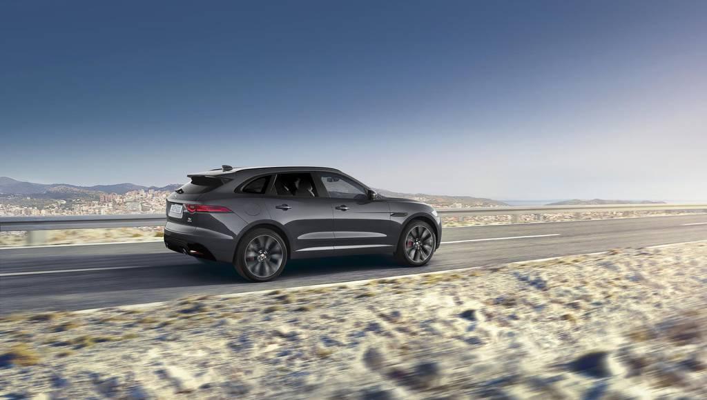 Jaguar F Pace Design Edition sold for 102500