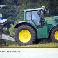 John Deere is going green with an EV tractor concept