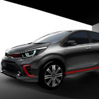 Kia Picanto teased ahead of its debut