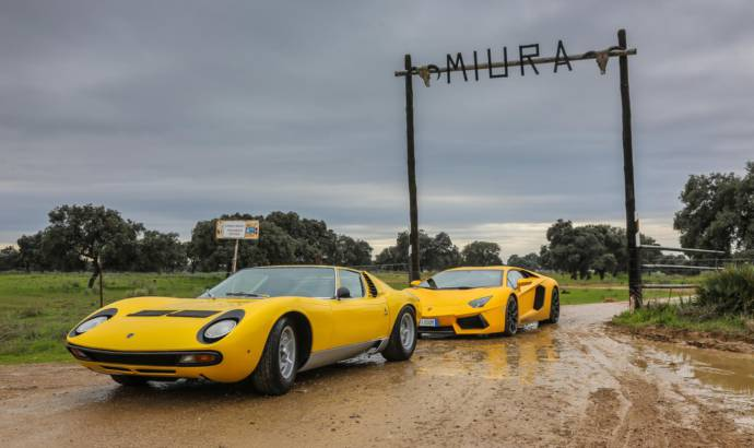 Lamborghini Miura returns to its roots
