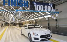 Maserati builds its 100.000th car in Giovanni Agnelli plant