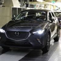 Mazda CX-3 enters production in Hofu plant