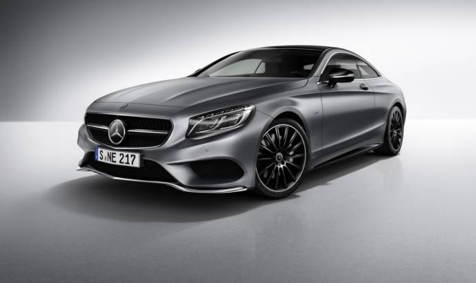 Mercedes S-Class Coupe Night Edition unveiled in the UK