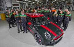 Three million Minis produced in Oxford plant