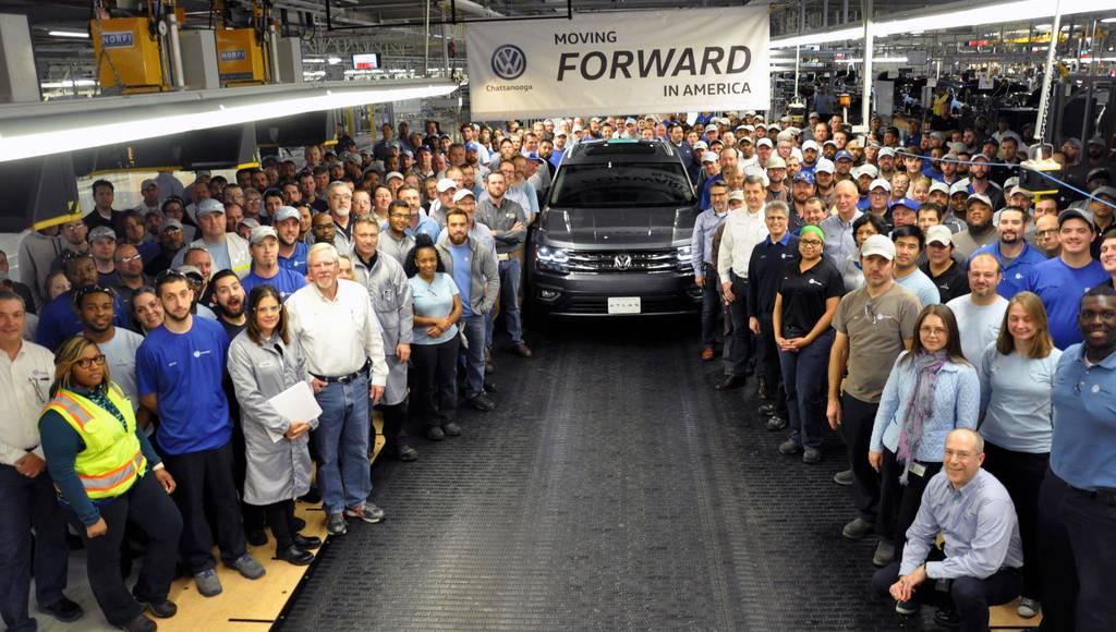Volkswagen Atlas enters production in US