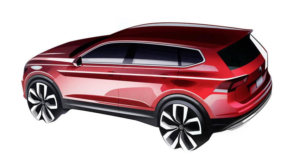 Volkswagen Tiguan Allspace will be unveiled in Detroit