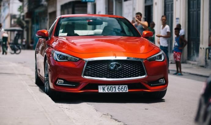 Infiniti, first registered US vehicle in Cuba