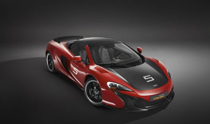 McLaren Special Operations accessories for 12C and 650S