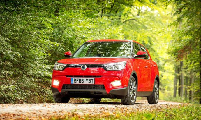 Ssangyong Tivoli 4x4 gets upgraded equipment in UK