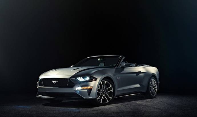 2017 Ford Mustang Convertible updated