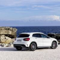 2017 Mercedes-Benz GLA facelift - Official pictures and details