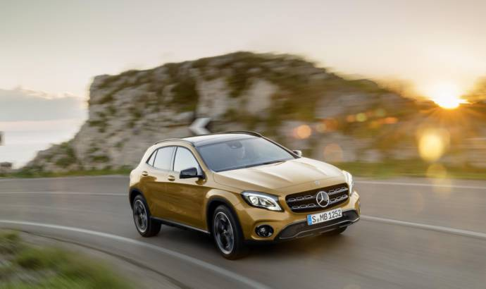 2017 Mercedes GLA UK pricing announced