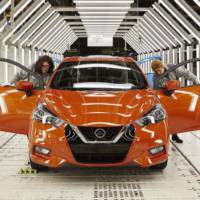 2017 Nissan Micra enters production