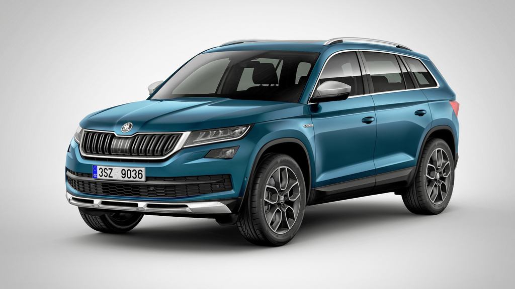 2017 Skoda Kodiaq Scout - Official pictures and details