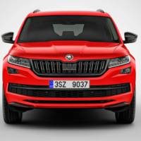2017 Skoda Kodiaq Sportline is here. I will wait the RS