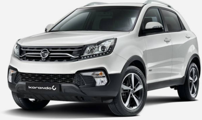 2017 SsangYong Korando facelift - Official pictures and details