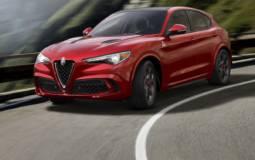 2018 Alfa Romeo Stelvio Quadrifoglio front