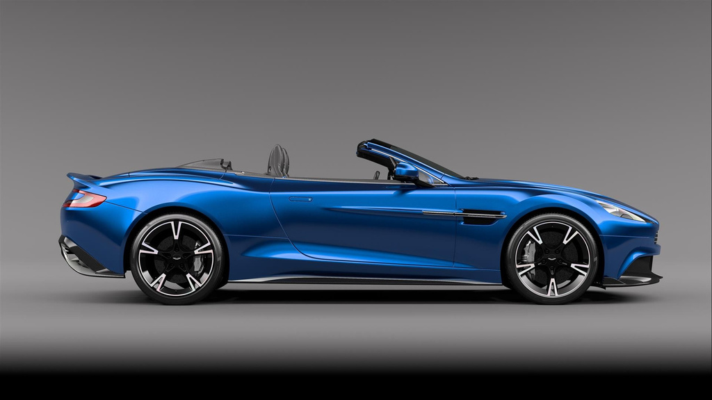 2018 Aston Martin Vanquish S Volante - Official pictures and details