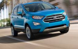 2018 Ford EcoSport exterior front