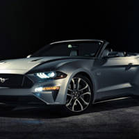 2018 Ford Mustang Convertible facelift - Official pictures and details