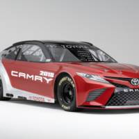 2018 Toyota Camry Nascar introduced in Detroit
