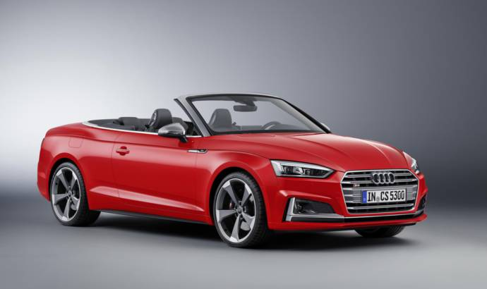 Audi A5 and S5 Cabriolet will be introduced at NAIAS