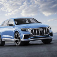 Audi Q8 concept - Official pictures and details
