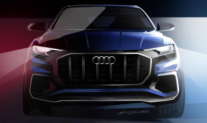 Audi Q8 e-tron Concept - Video teaser