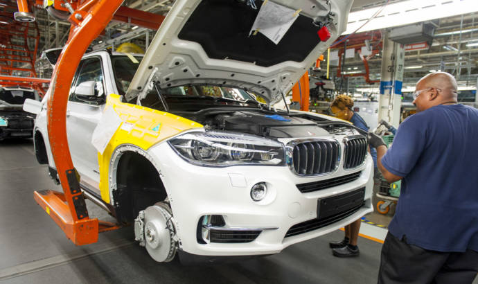 BMW sets new manufacturing record in US